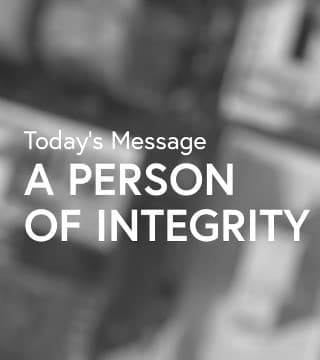 Leon Fontaine - A Person of Integrity