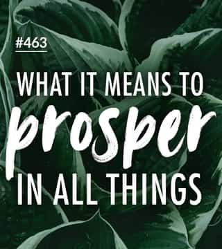 Joseph Prince - What It Means To Prosper In All Things